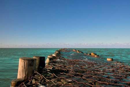 Nordsee Fischernetze